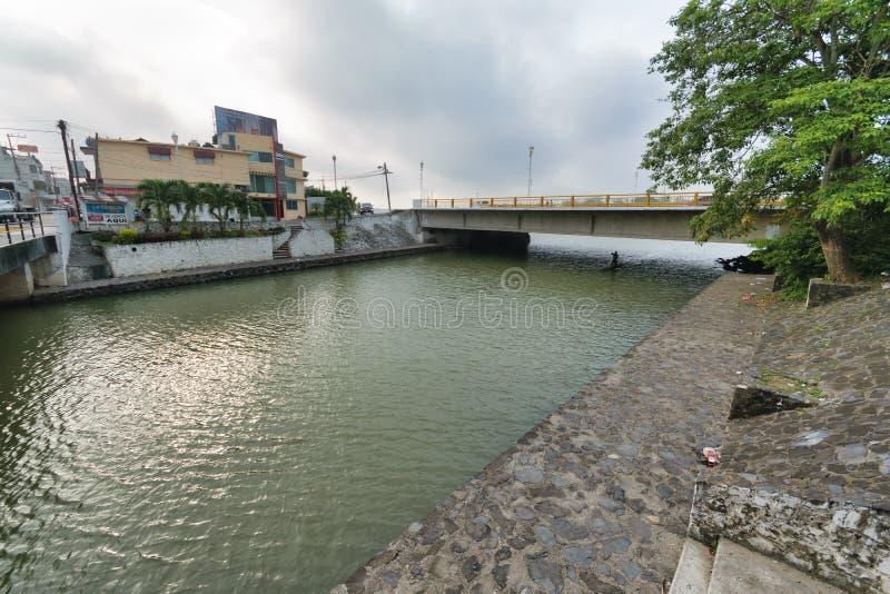 Tuxpan River, Mexico stock photos