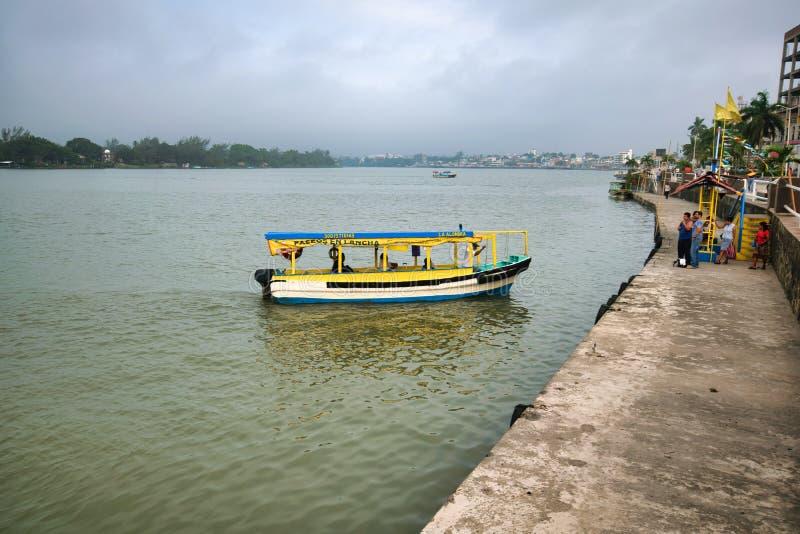 Tuxpan River, Mexico royalty free stock photo