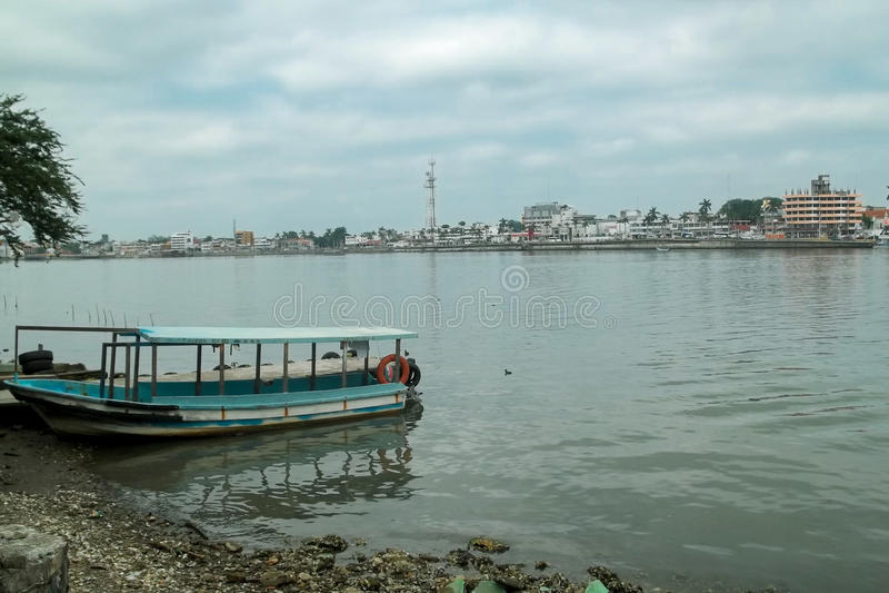 Tuxpan, Veracruz, Mexiko lizenzfreie stockfotos