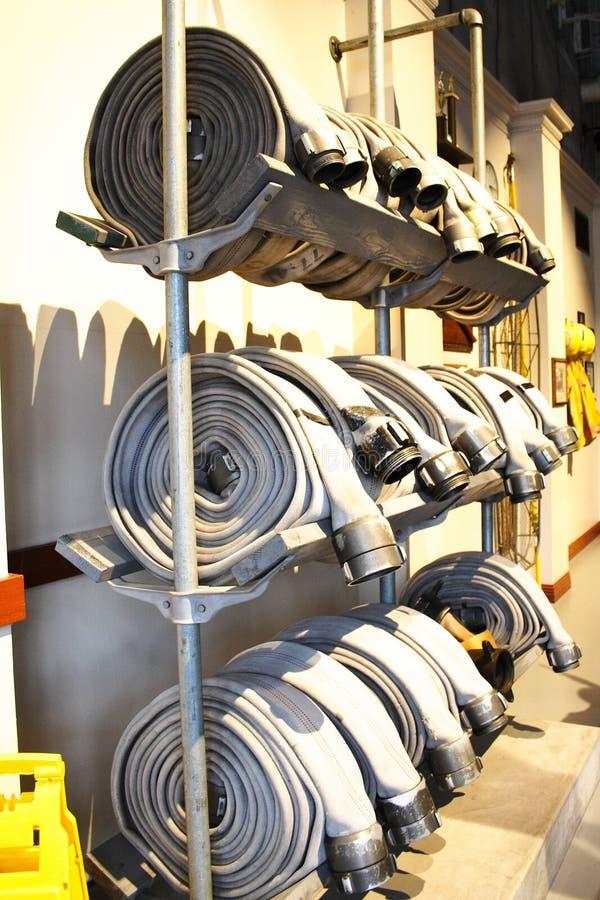 Tuyau d'incendie photo stock