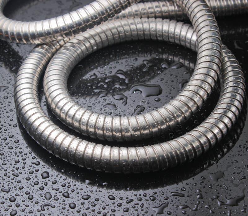 Tuyau de douche en métal photos libres de droits