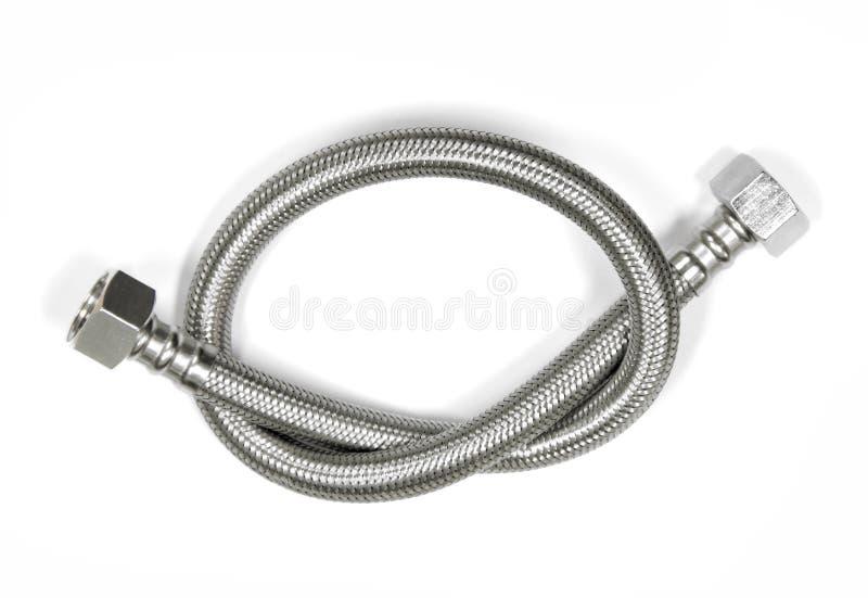Tuyau en métal de câble images stock