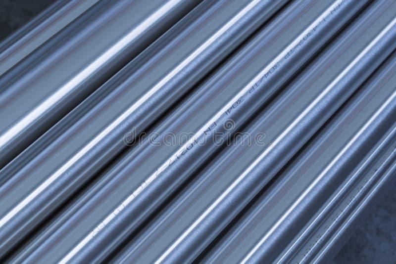 Tuyaux d'acier inoxydables illustration de vecteur