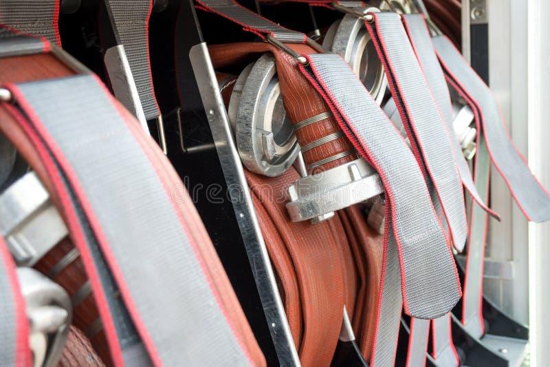 Tuyaux d'incendie photo stock