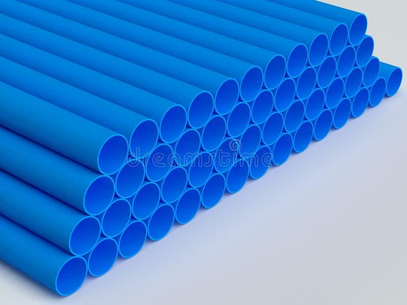 Tuyaux de PVC photo libre de droits