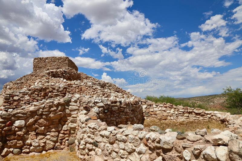 Tuzigoot National Monument State Park royalty free stock photography