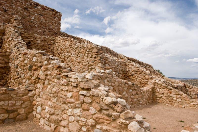 Tuzigoot nationales Denkmal lizenzfreies stockfoto