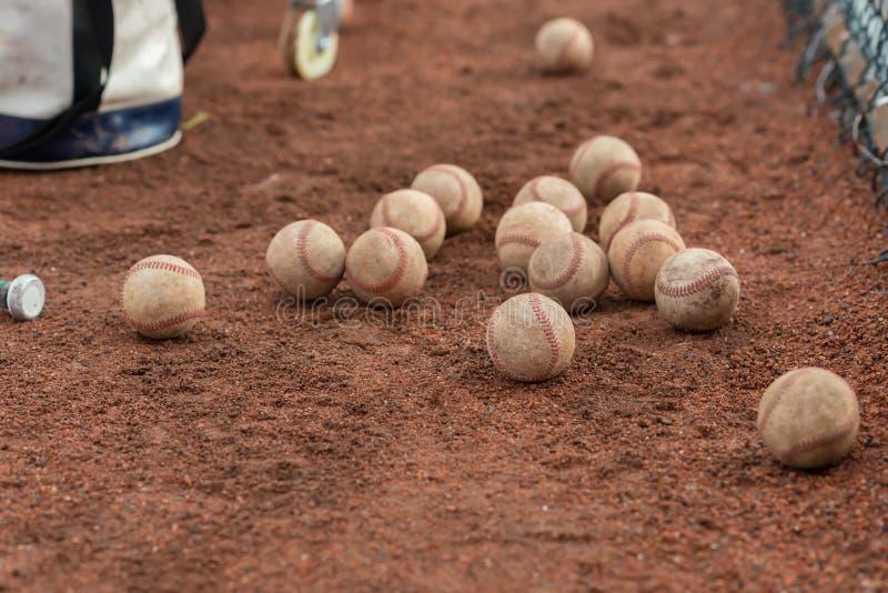 Tuziny baseballe zdjęcie stock