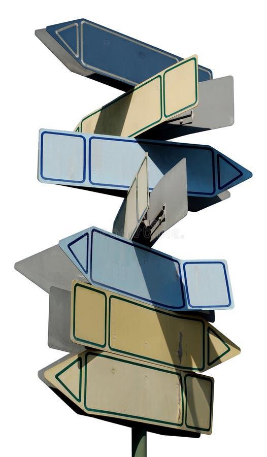 tvärgatatecken arkivbild
