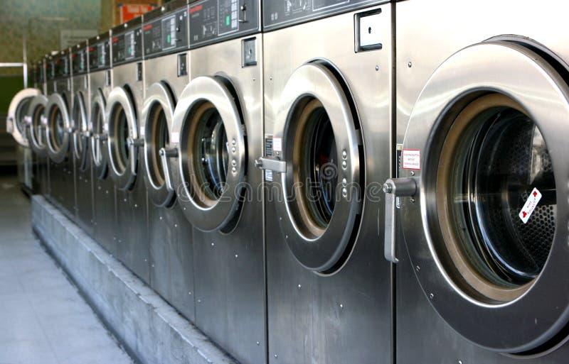 tvätteri arkivbild
