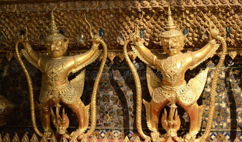 Två av Garuda royaltyfri fotografi