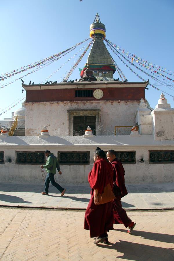 Två munkar arkivbild