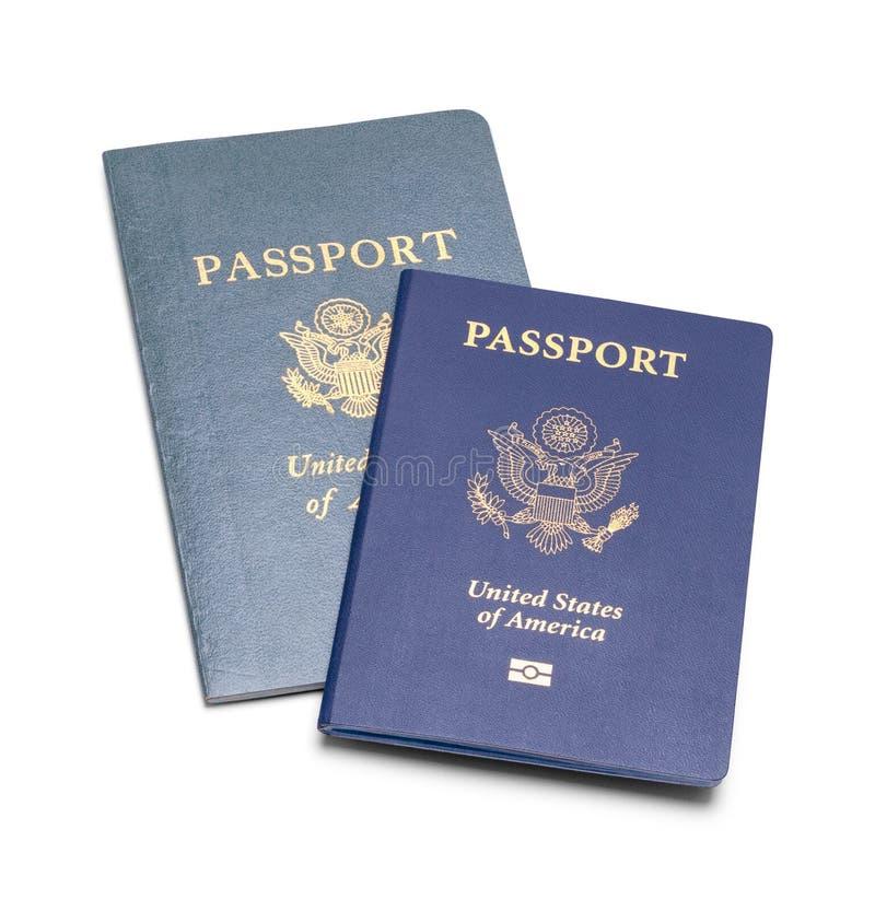 Två pass royaltyfri foto