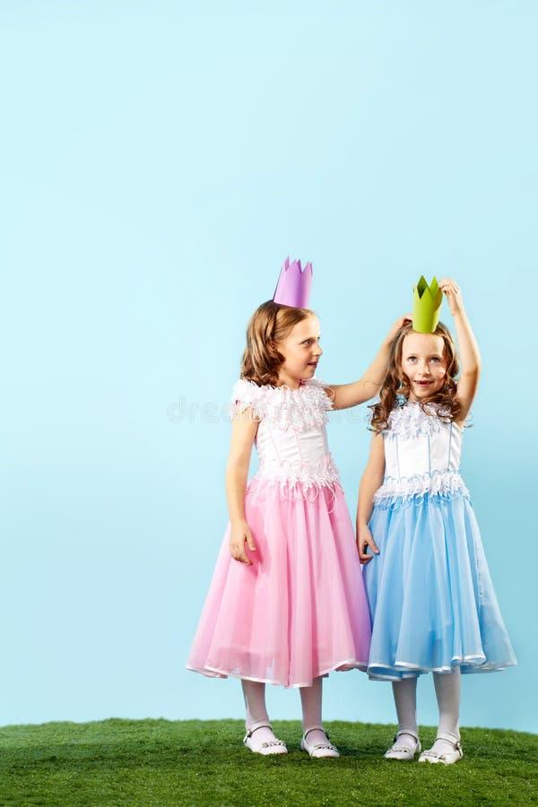 Två princesses arkivbild