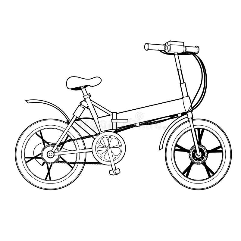Två rullad elektriskt isolerad symbol för cykelekologi medel stock illustrationer