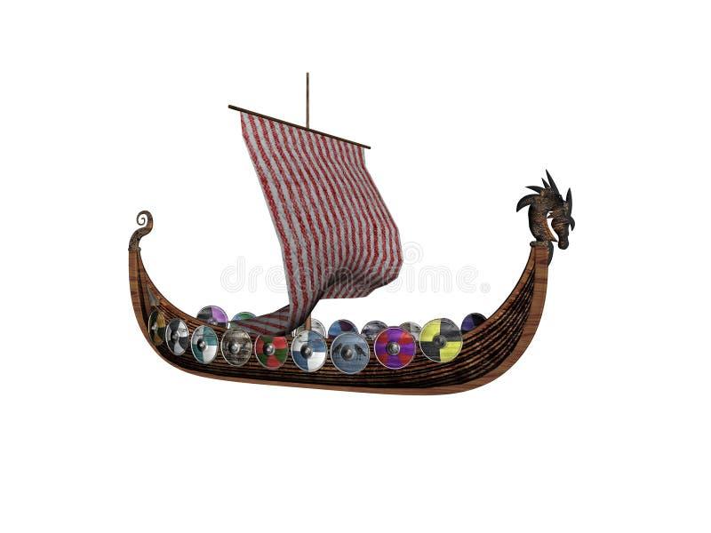 Download Två viking stock illustrationer. Illustration av galleon - 510020