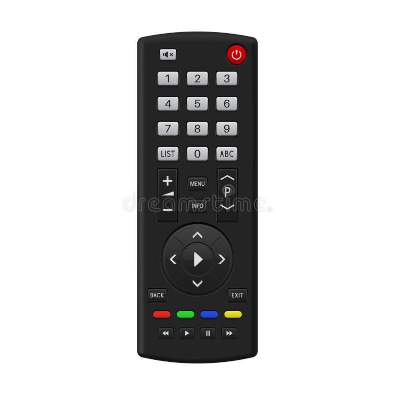 TV à télécommande illustration libre de droits