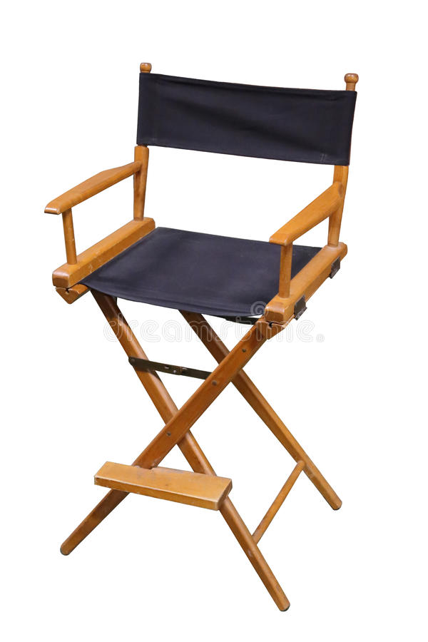 TV ή κινηματογράφος διευθυντές Chair στοκ εικόνες με δικαίωμα ελεύθερης χρήσης
