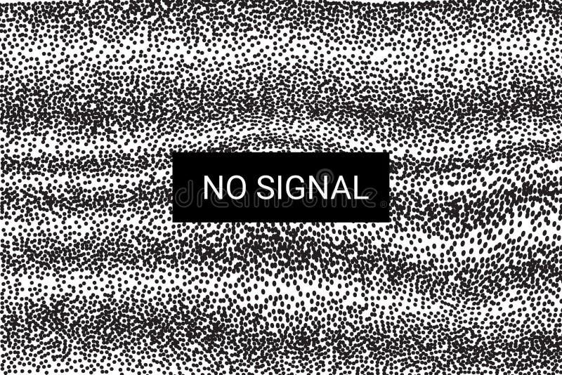 TV κανένα σήμα στατική οθόνη 4k, πλήρη ψηφίσματα hd διάνυσμα διανυσματική απεικόνιση