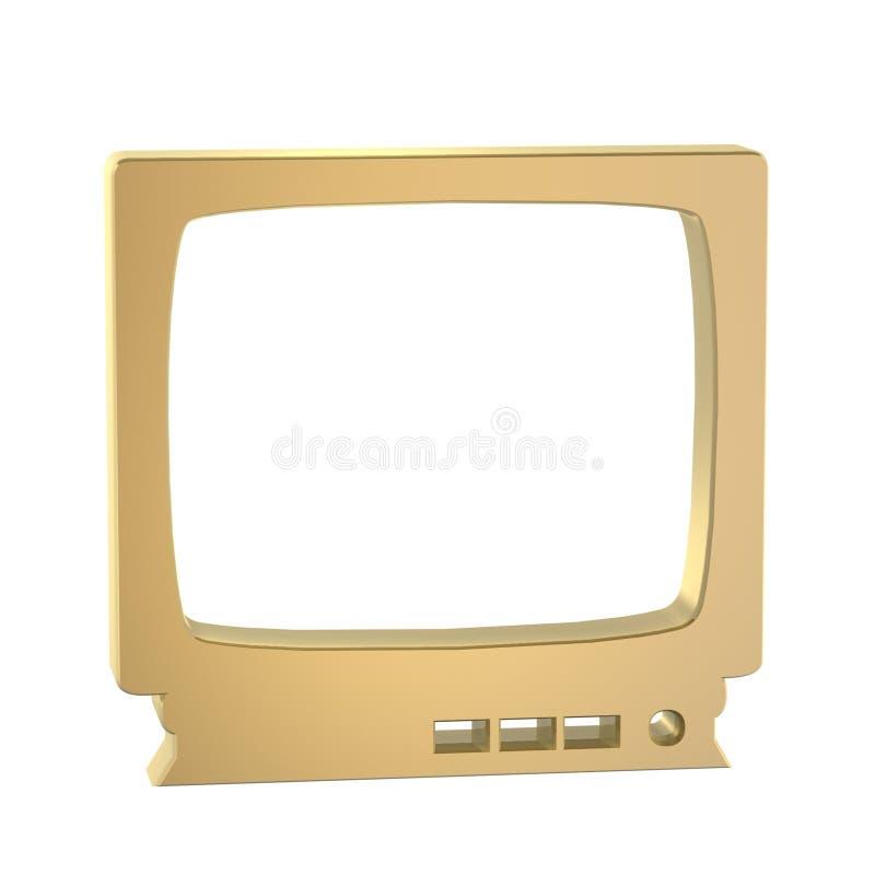TV συμβόλων διανυσματική απεικόνιση