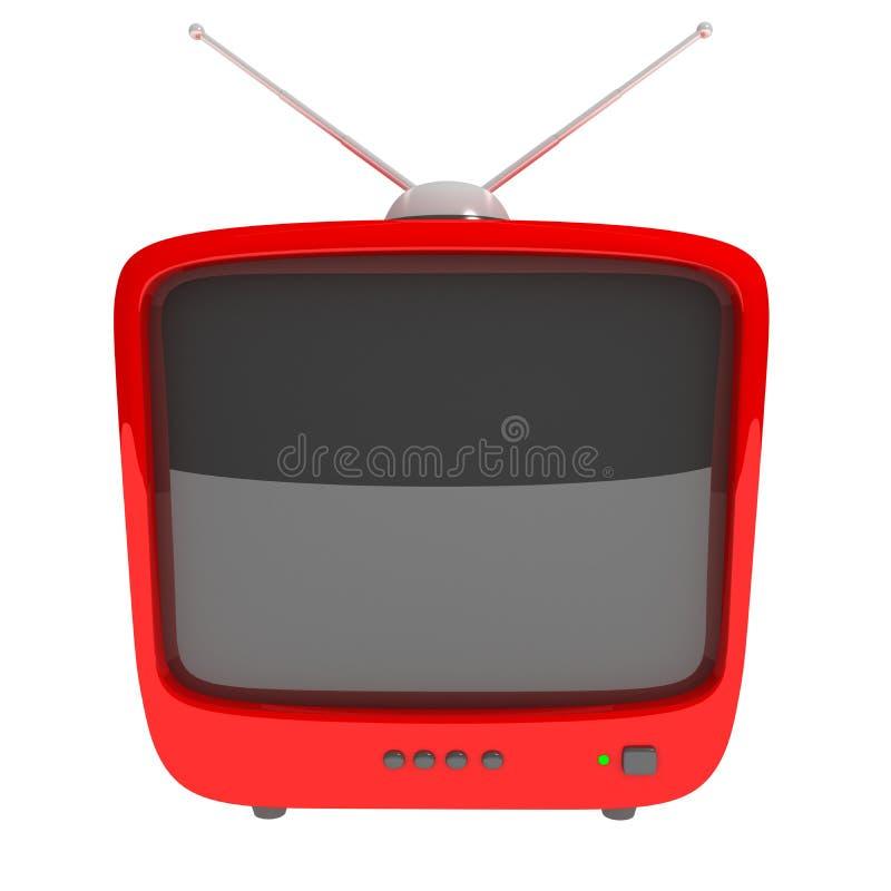 TV συμβόλων ελεύθερη απεικόνιση δικαιώματος