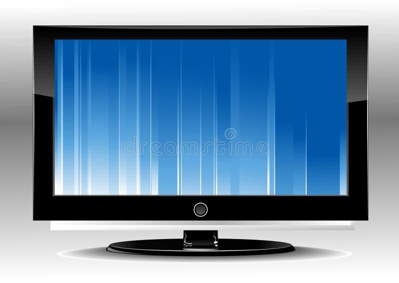 tv водить иллюстрация вектора