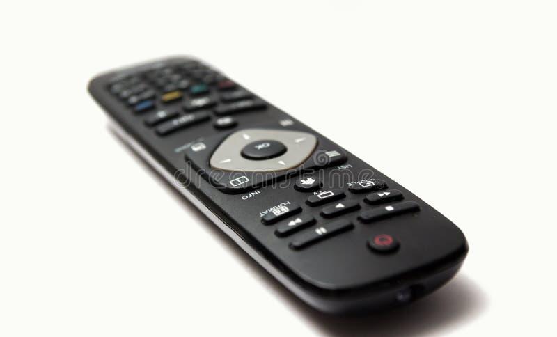 Изолированное дистанционное управление ТВ стоковые изображения rf