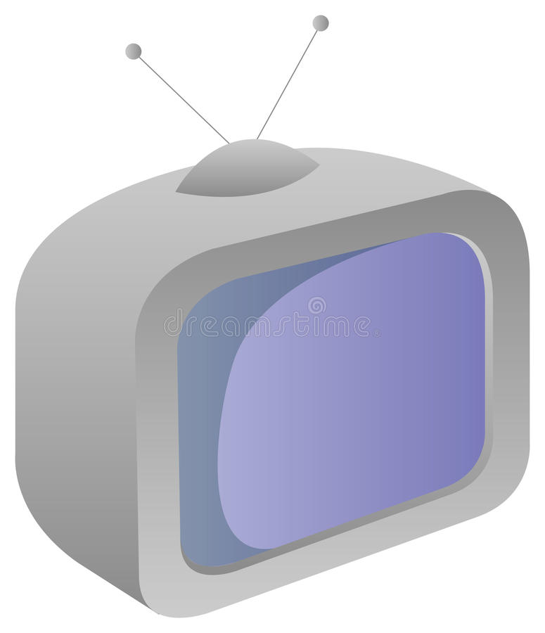 Download TV stock illustration. Image of show, tube, retro, news - 10494660