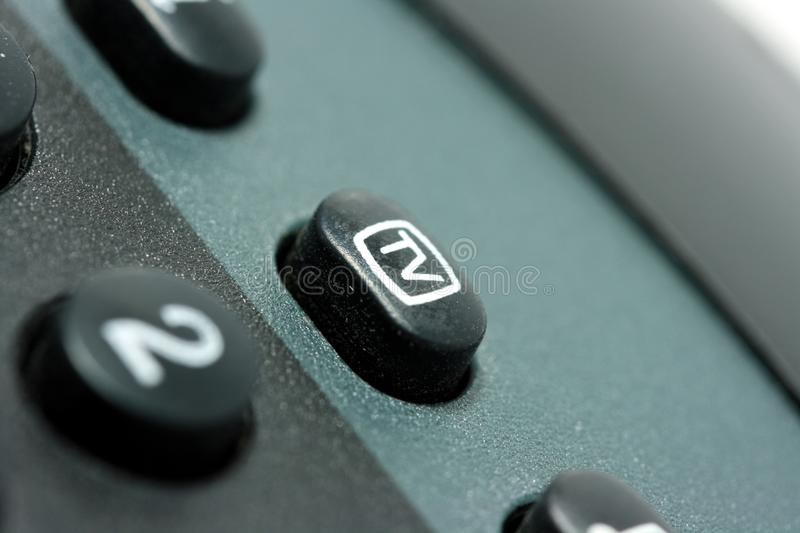 Download TV stock photo. Image of remote, button, isolated, white - 11060838