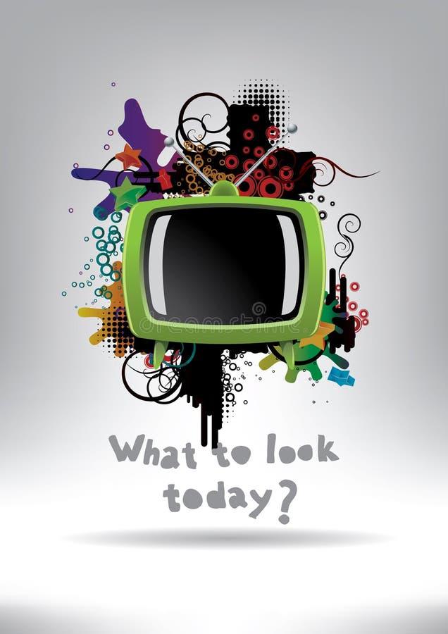 TV royalty-vrije stock afbeeldingen