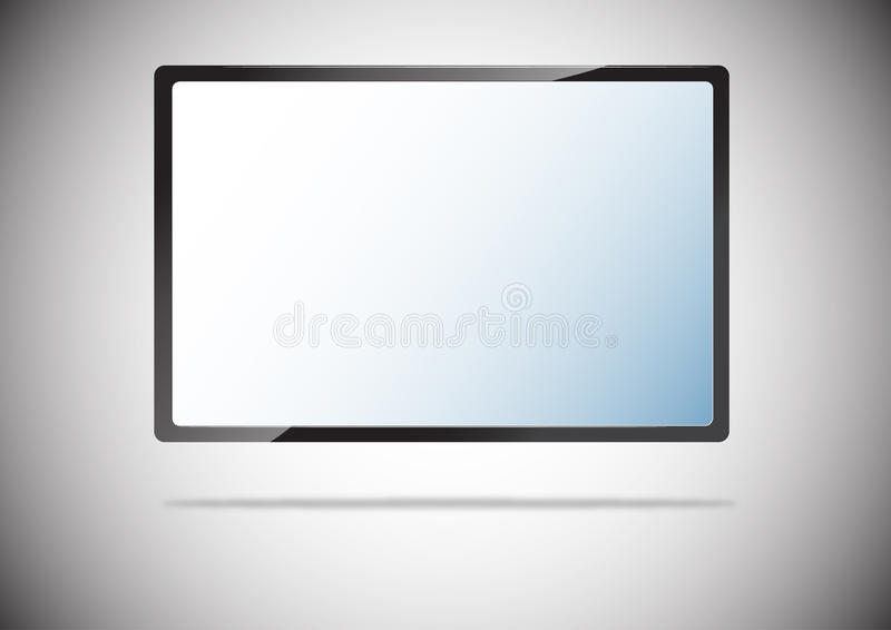 Download Tv stock illustration. Illustration of screen, isolated - 20490873