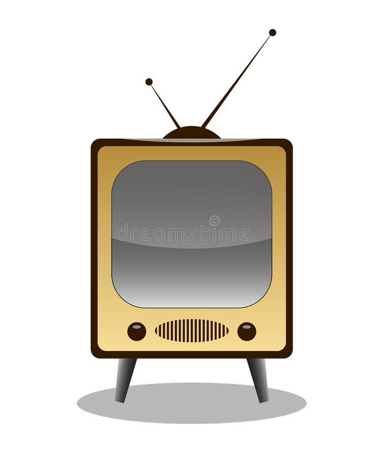 TV illustration libre de droits
