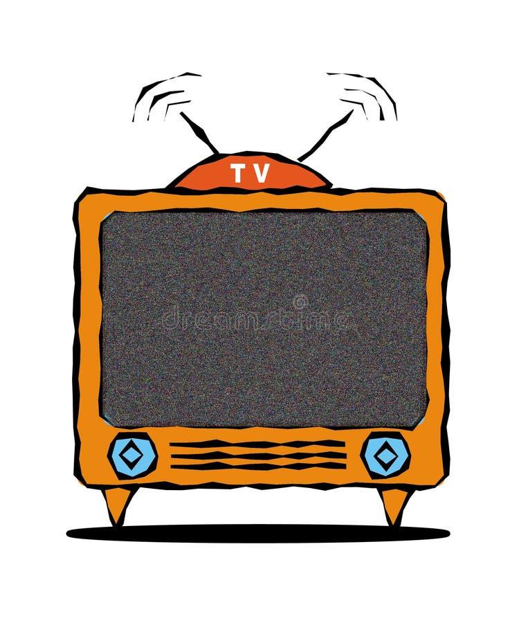 Download Tv stock illustrationer. Illustration av barten, cartoon - 247862
