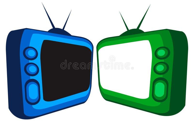 tv иллюстрация вектора
