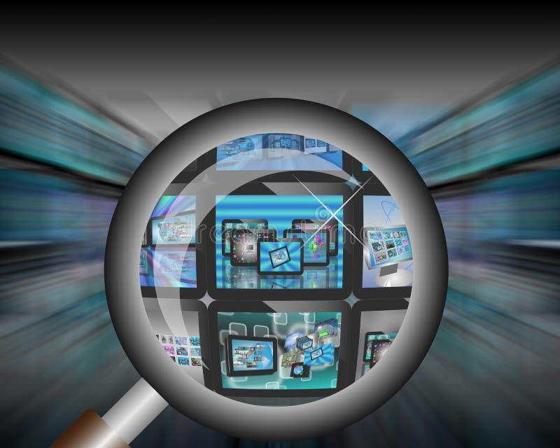 Download TV abstrakcja ilustracji. Ilustracja złożonej z książka - 28953815