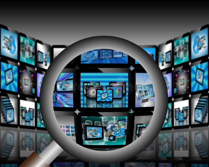 Download TV abstrakcja ilustracji. Ilustracja złożonej z biznes - 28953837