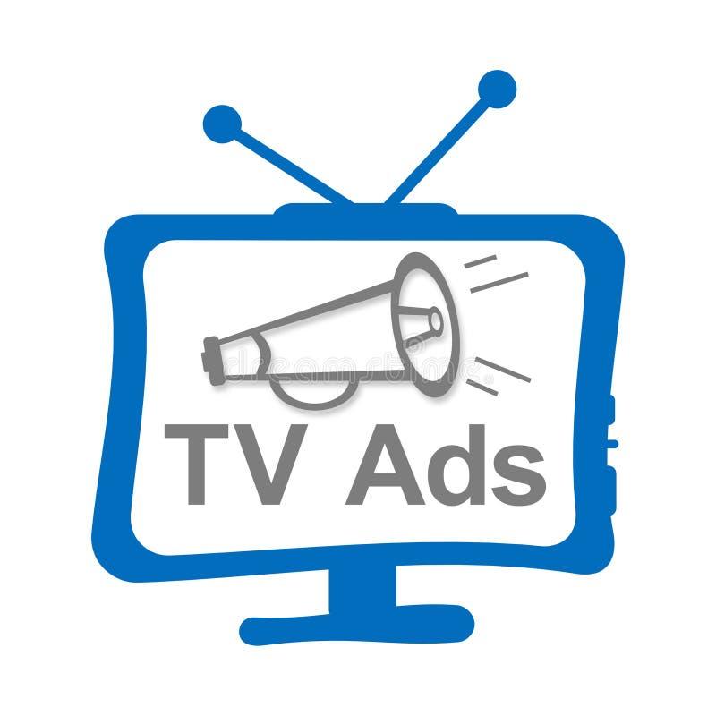 TV-Advertenties stock illustratie