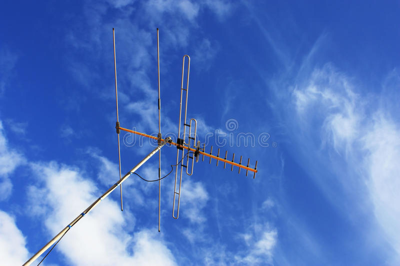 Download TV Aerial stock image. Image of frequency, digital, pole - 10133231