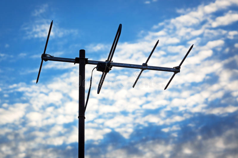 TV antena obrazy stock