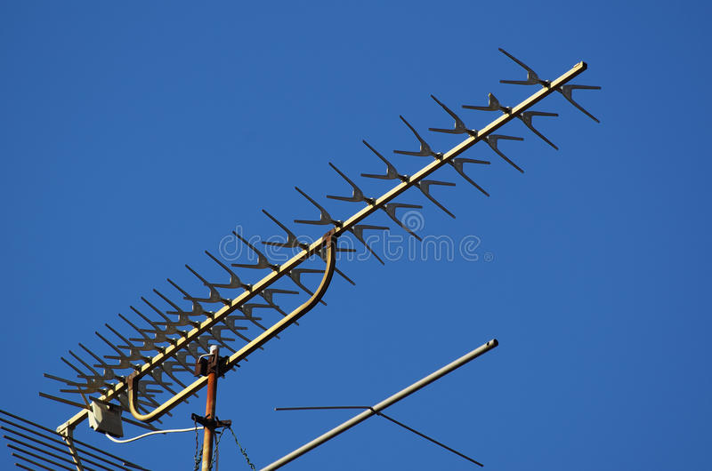Download Tv antenna stock image. Image of radio, frame, broadcast - 29347747