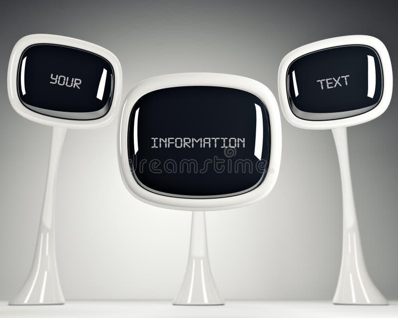 TV av framtiden. vektor illustrationer
