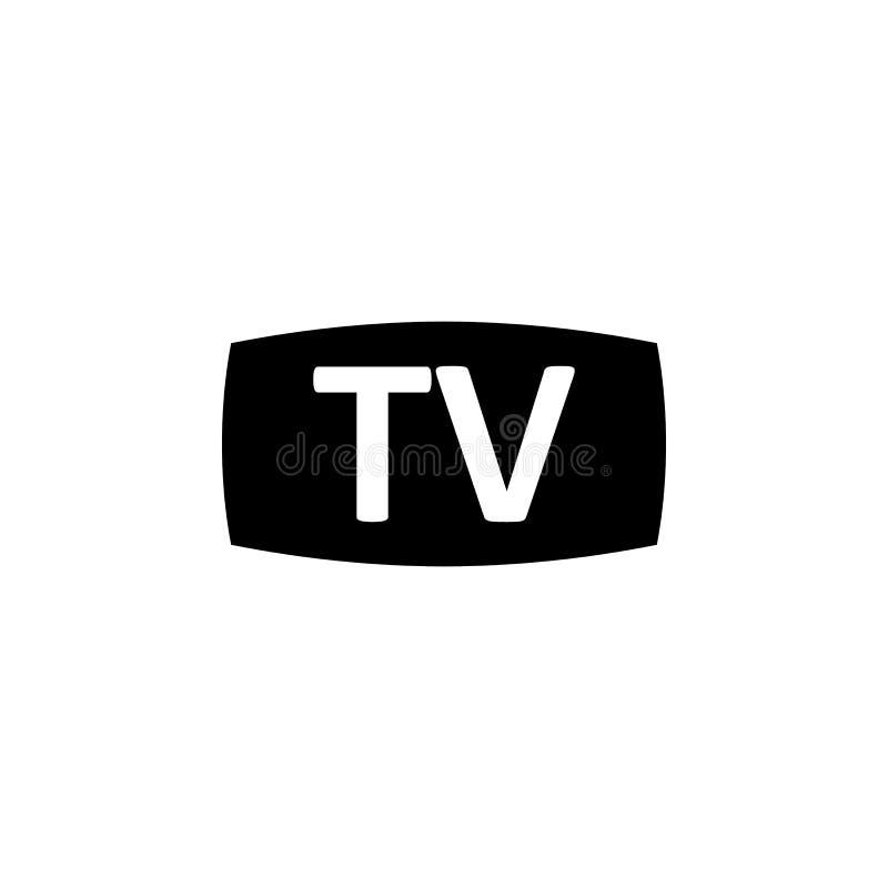 TV bildskärmsymbol Tecknet och symboler kan användas för rengöringsduken, logoen, den mobila appen, UI, UX stock illustrationer