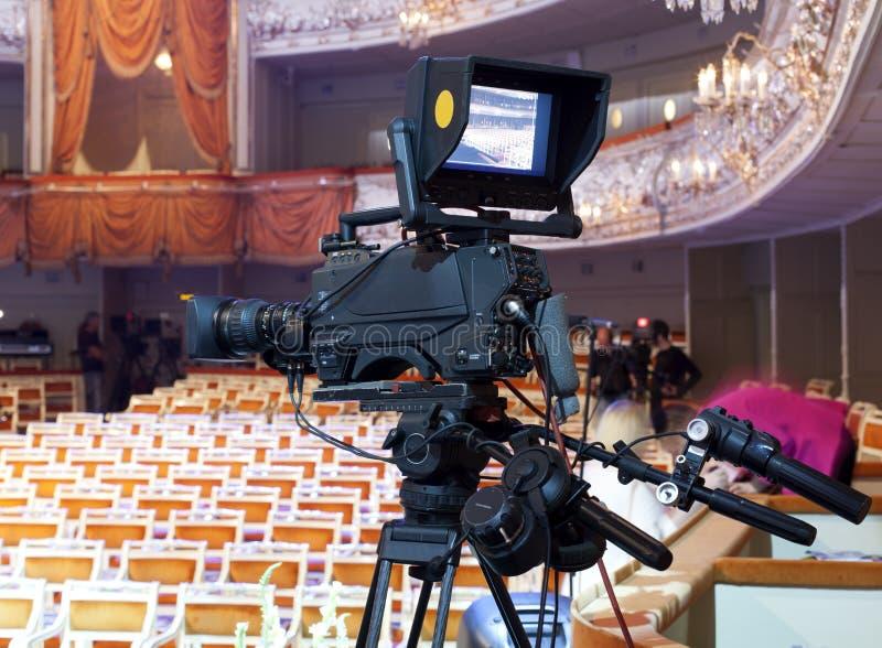 TV-camera royalty-vrije stock foto