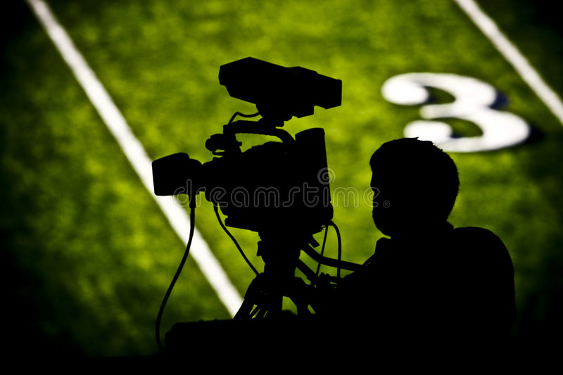 Download TV Camera On Football Field Stock Photo - Image: 6629218