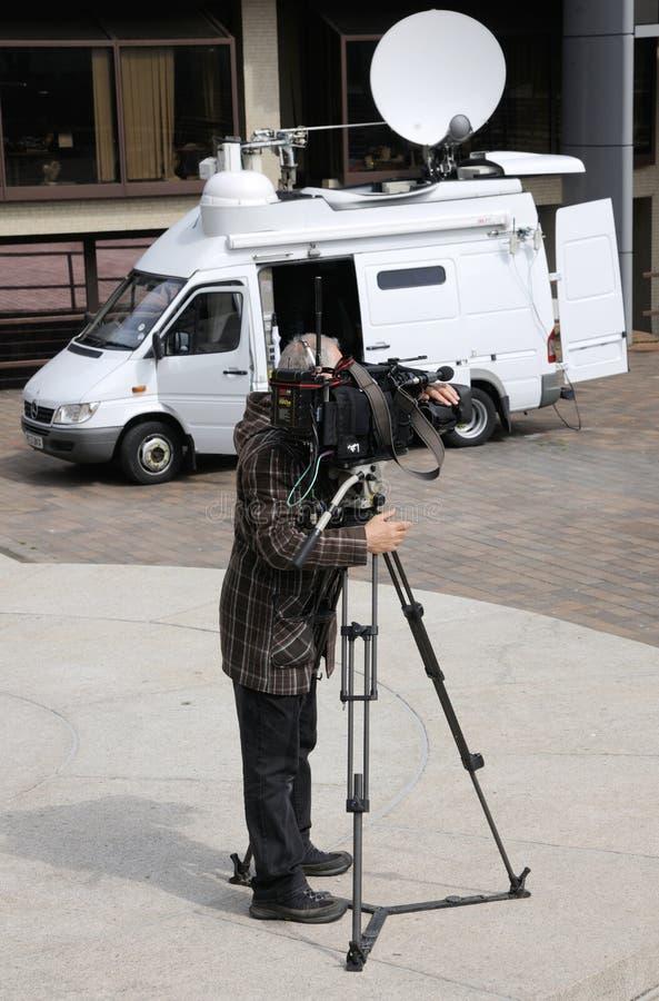 Download TV Cameraman Editorial Photo - Image: 30504936