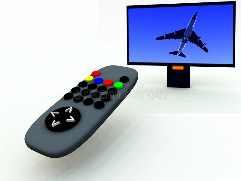 Download TV Control And TV 11 Stock Photo - Image: 2083370