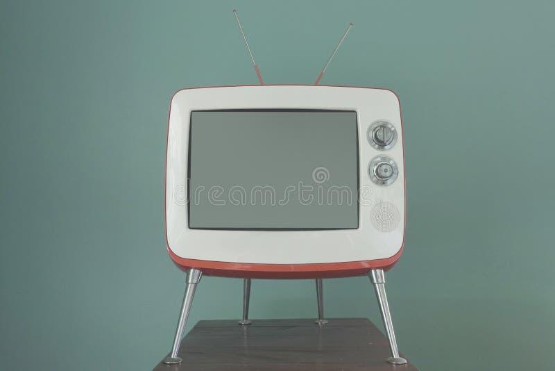 TV dans la chambre images stock