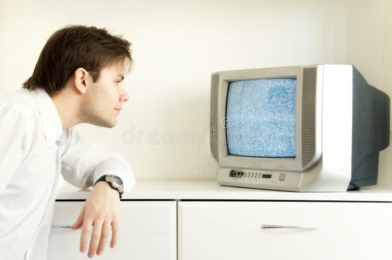 TV di sorveglianza fotografie stock libere da diritti