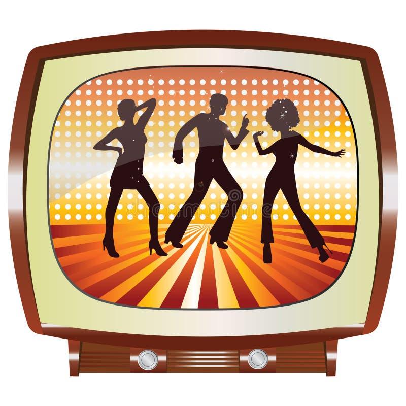 TV disco ελεύθερη απεικόνιση δικαιώματος