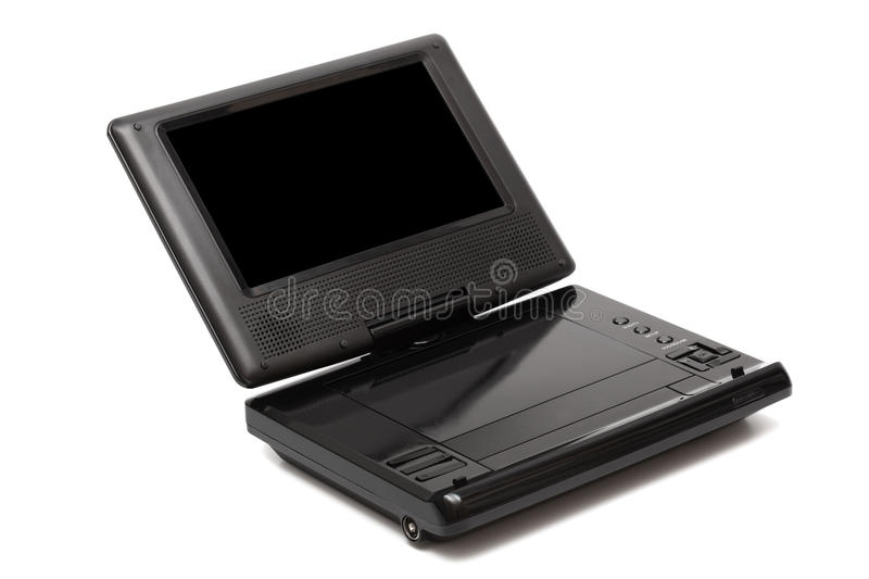TV With A Dvd Player Stock Photography